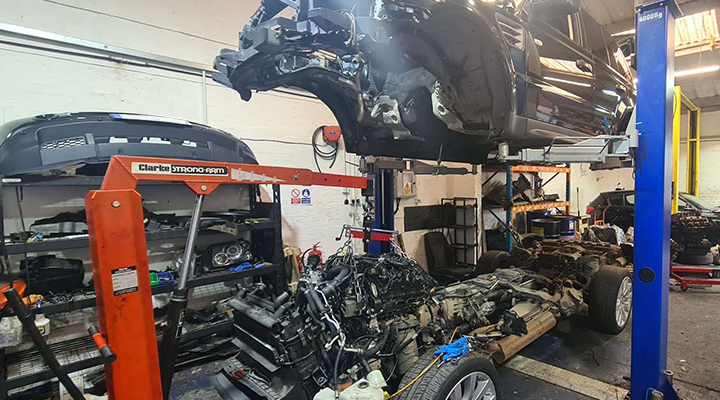Second hand Engines for Range Rover